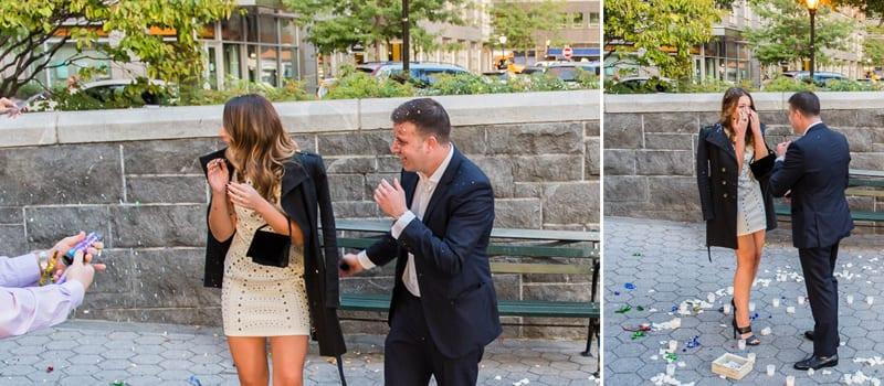 Batter Park Wedding Proposal