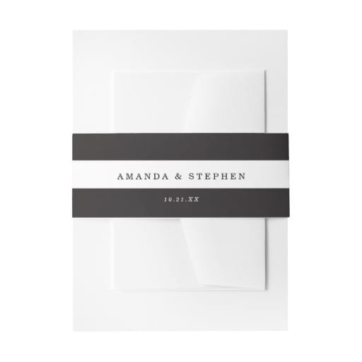 personalized wedding stationary