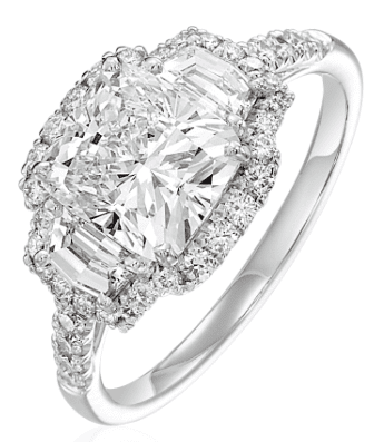 Aucoin Hart Engagement Ring