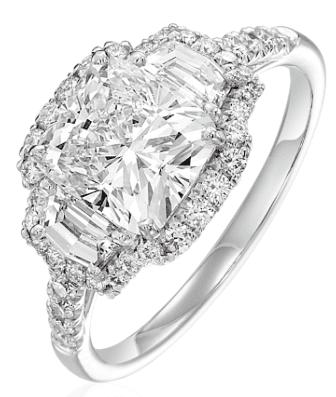Aucoin Hart Engagement Ring