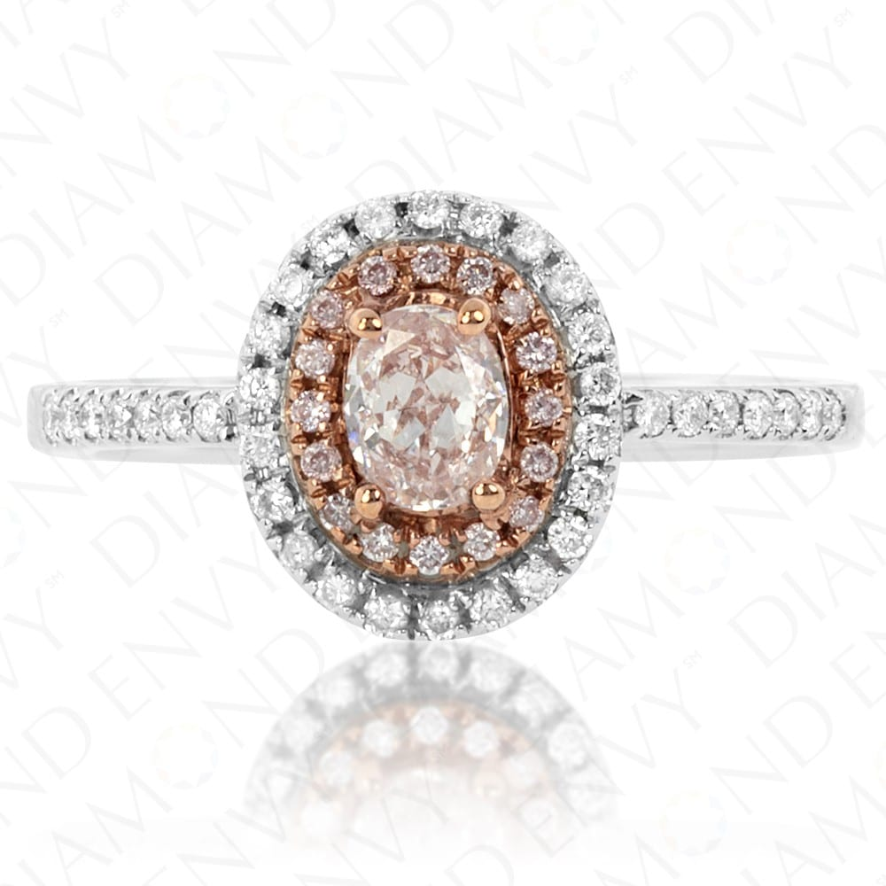 Diamond Envy Pink Oval Ring