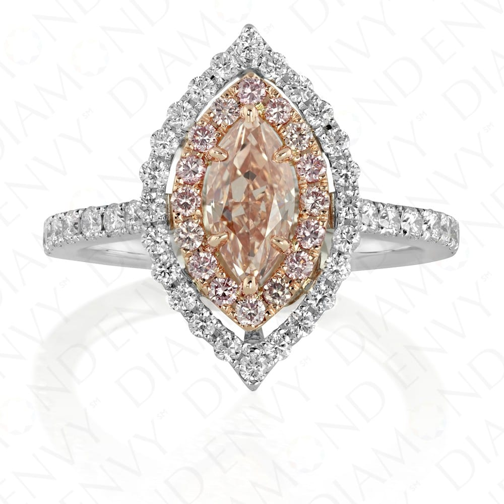 Diamond Envy Pink Pear Ring