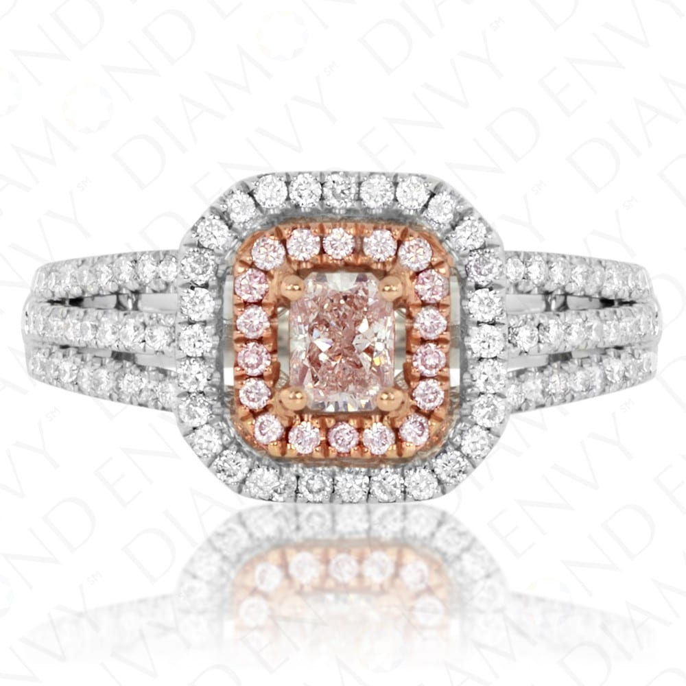 Diamond Envy Pink Radiant Ring