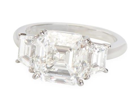 Goergian Jewelry Engagement Ring
