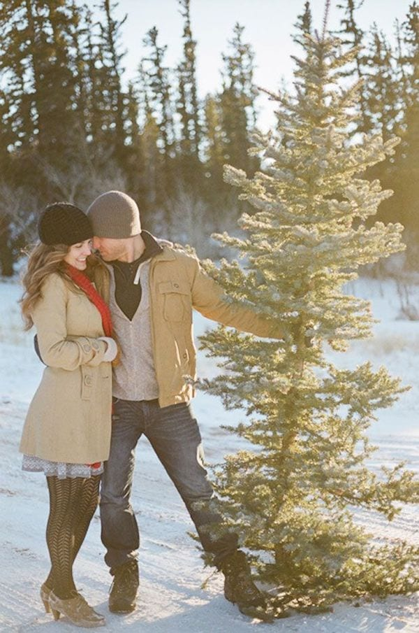 8 romantic holiday traditions to start the yes girls for How did the christmas tree tradition start