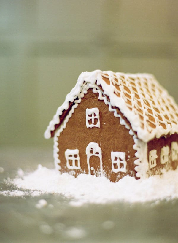 build a gingerbread house with your husband