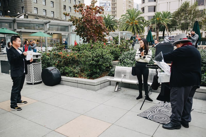 San Francisco Union Square Proposal