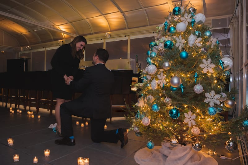 christmas theme proposal in manhattan