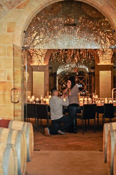 Napa Private Marriage Proposal