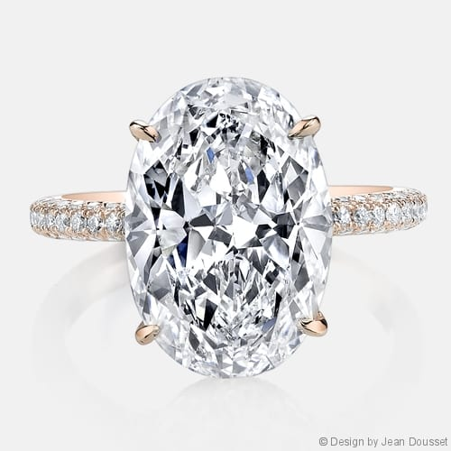 Jean Dousset Chelsea Engagement Ring