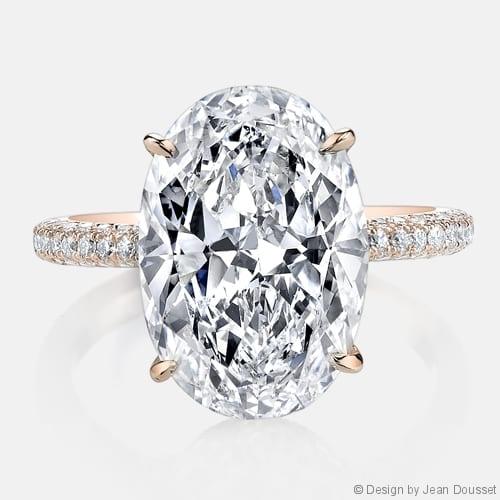 Jean Dousset Chelsea Engagement Ring