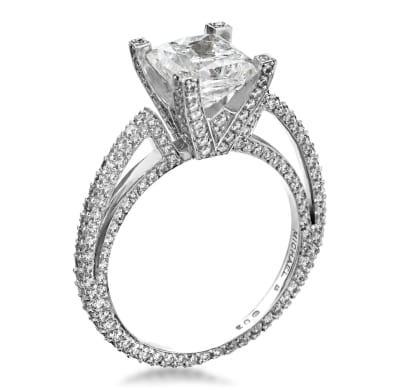 Michael B Engagement Ring 2