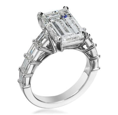 Michael B Engagement Ring 3