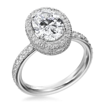 Michael B Engagement Ring 4