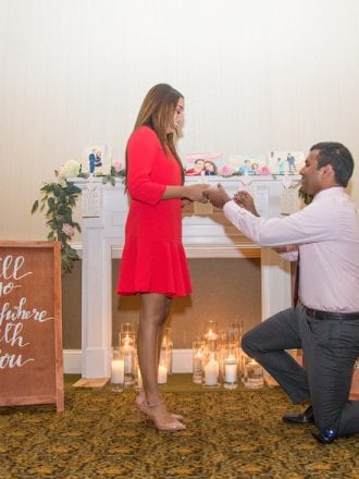 north carolina wedding proposal