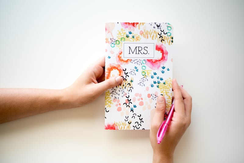 bride to be planning book