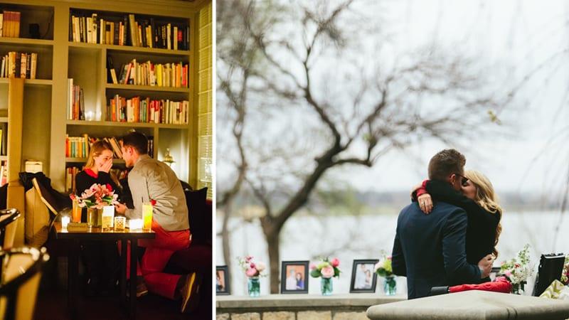 non cliche proposal on valentine's