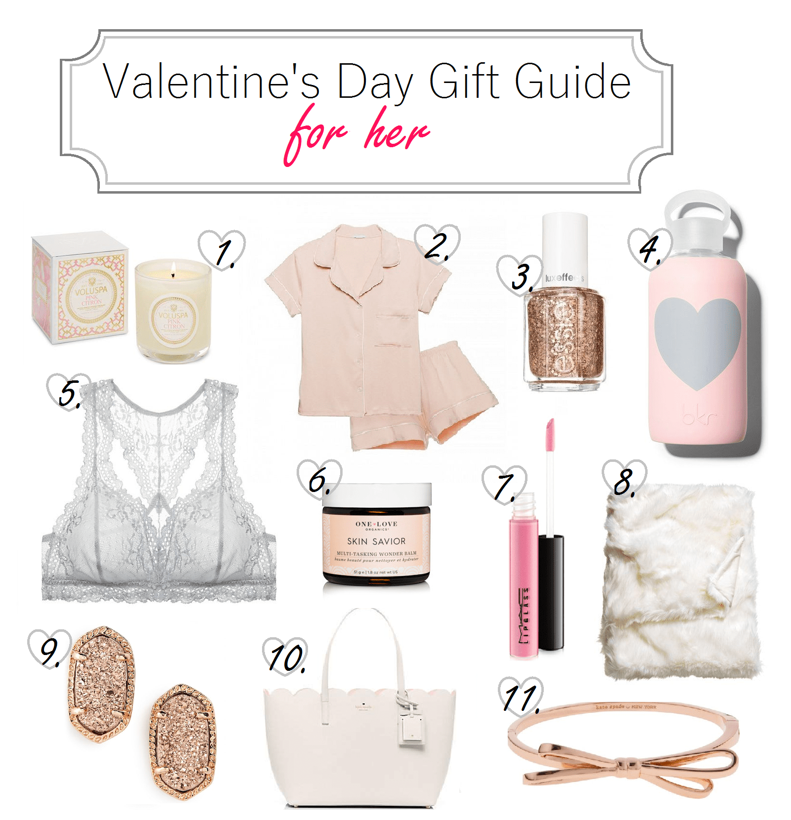 gift guide for gal on valentine's