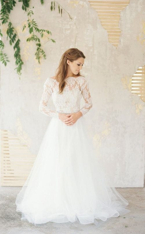 winter wedding gown ideas