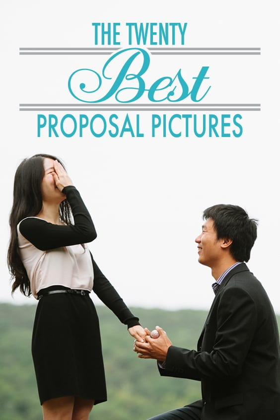 best pictures that capture proposal moment