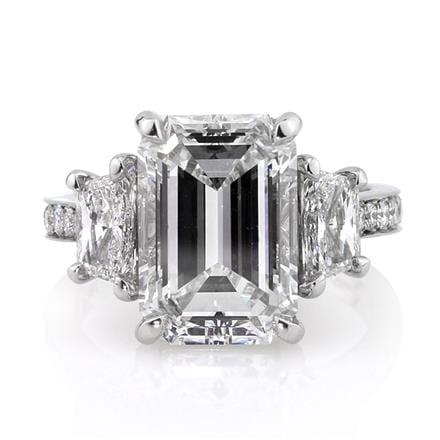 Mark Broumand Emerald Engagement Ring