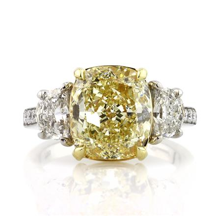 Mark Broumand Yellow Engagement Ring