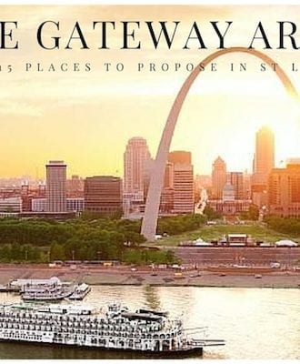 romantic proposal location in st louis