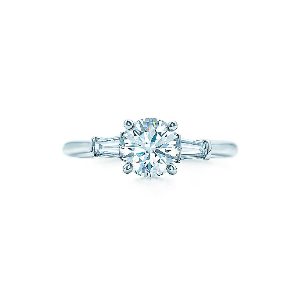 Tiffany Round Engagement Ring