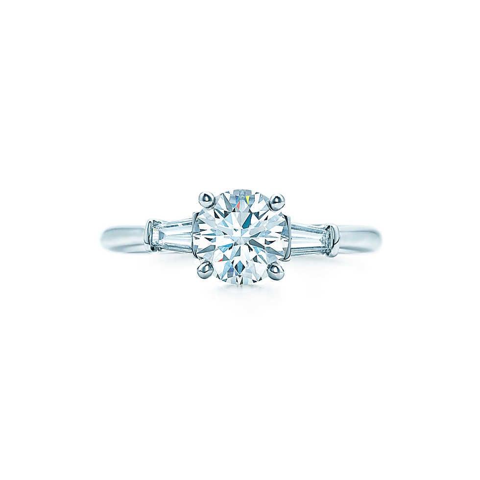 Tiffany Round Engagement Ring