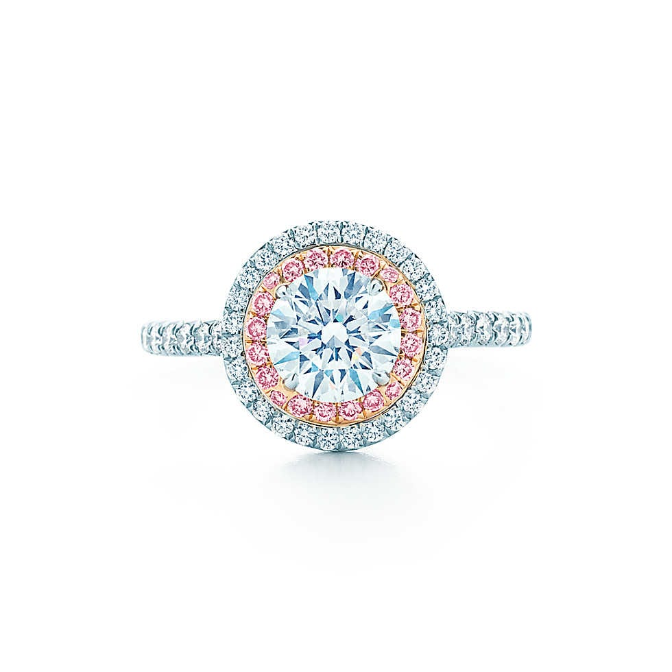 Tiffany Soleste Round Engagement Ring