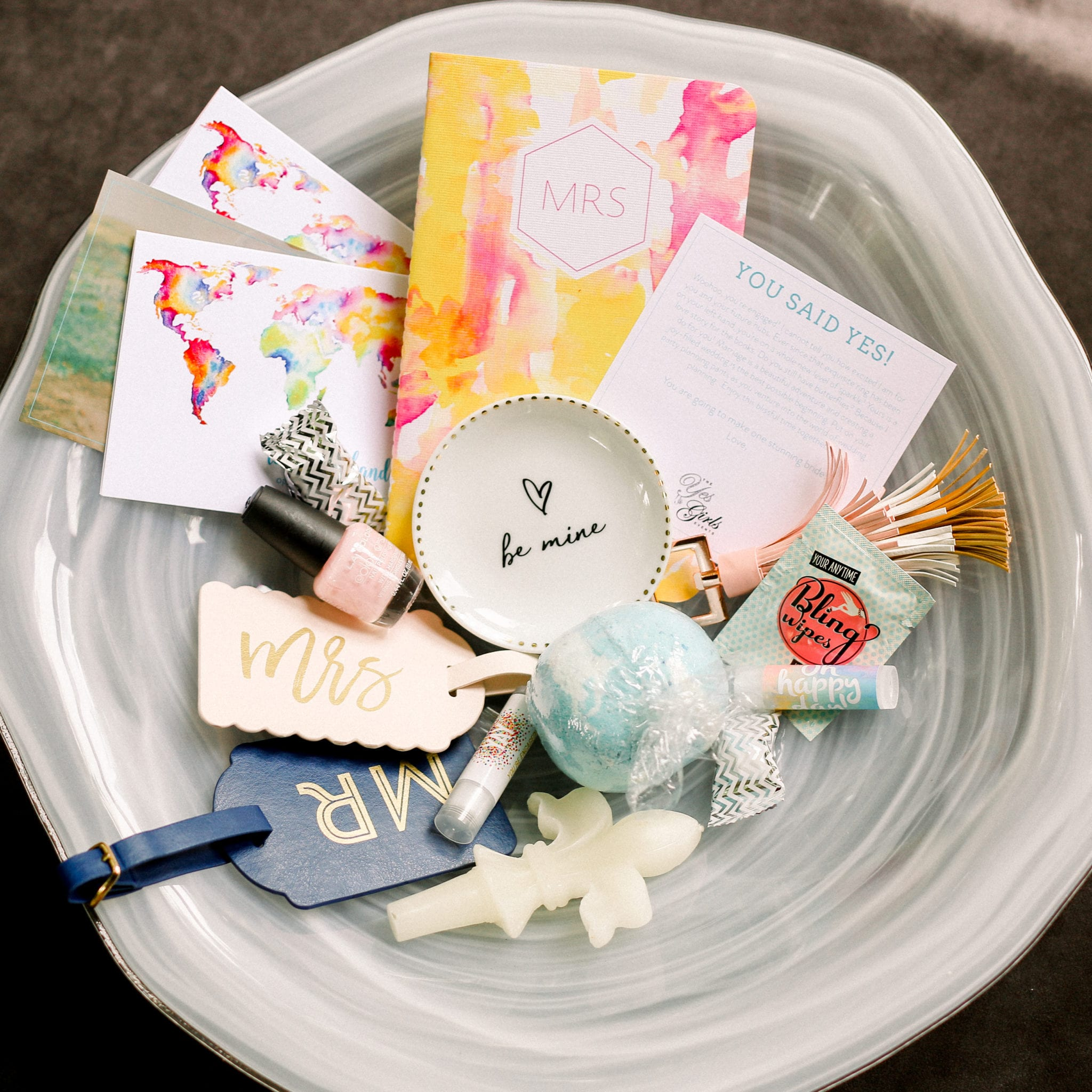 "Wedding Gift Ideas For Best Friend Girl: ""Just Engaged"""