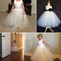 simple and elegant flower girl dresses for cheap