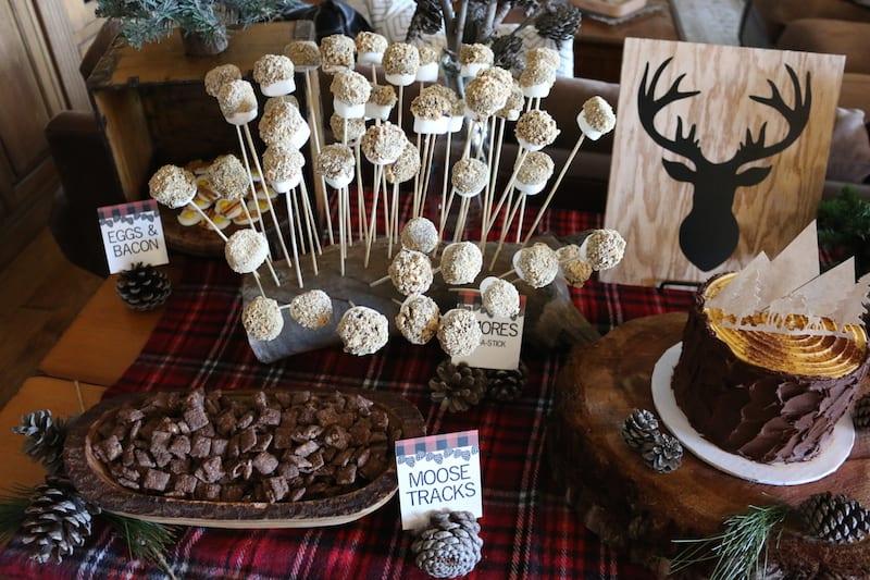 Mountain Lumberjack First Birthday Party