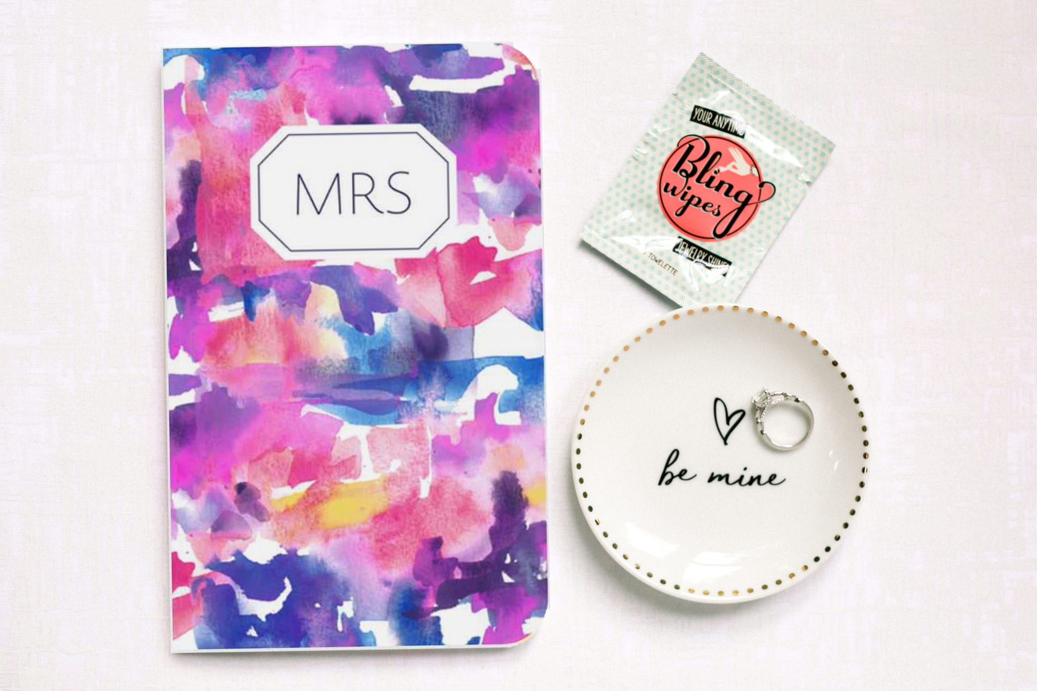 send a special engagement-gift-box for bride to be