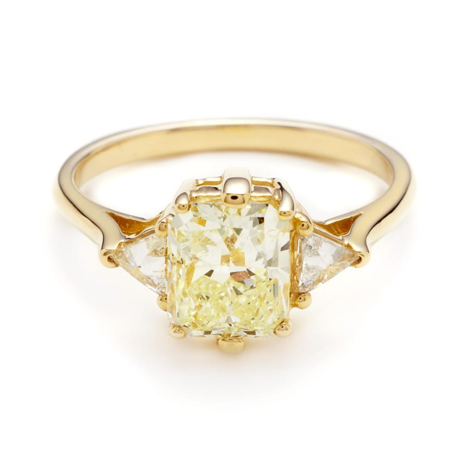 Anna Sheffield Yellow Diamond Ring