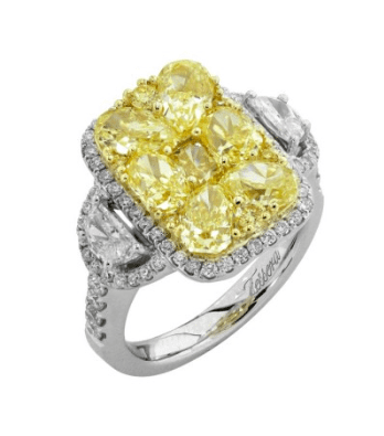 Gregg Ruth Canary Ring