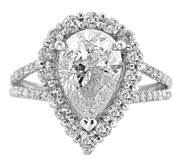 Jean Pierre Engagement Ring