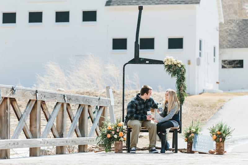 Vintage Ski Lift Chair Proposal Decor