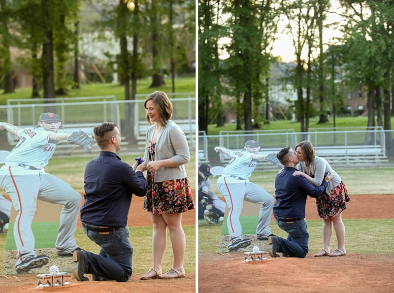 Sf Giants Wedding Proposal by The Yes Girls