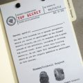 secret agent groomsman proposal