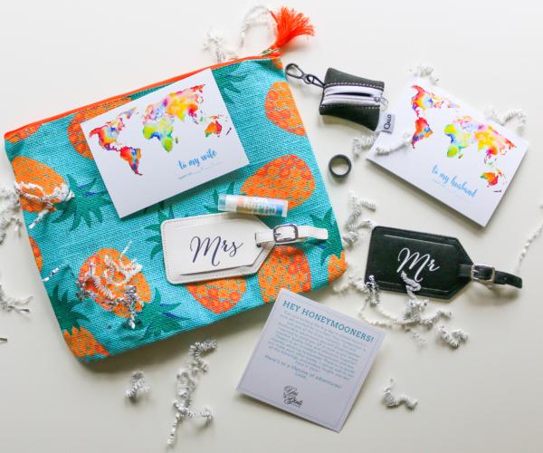 Wedding Gift Box   Happy Honeymoon Gift Box The Yes Girls