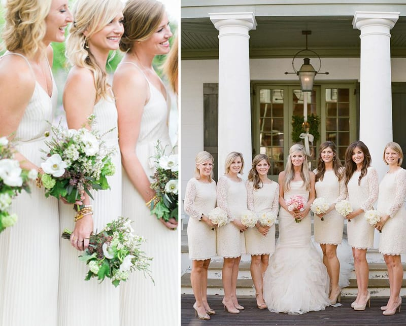 White Bridesmaids 34