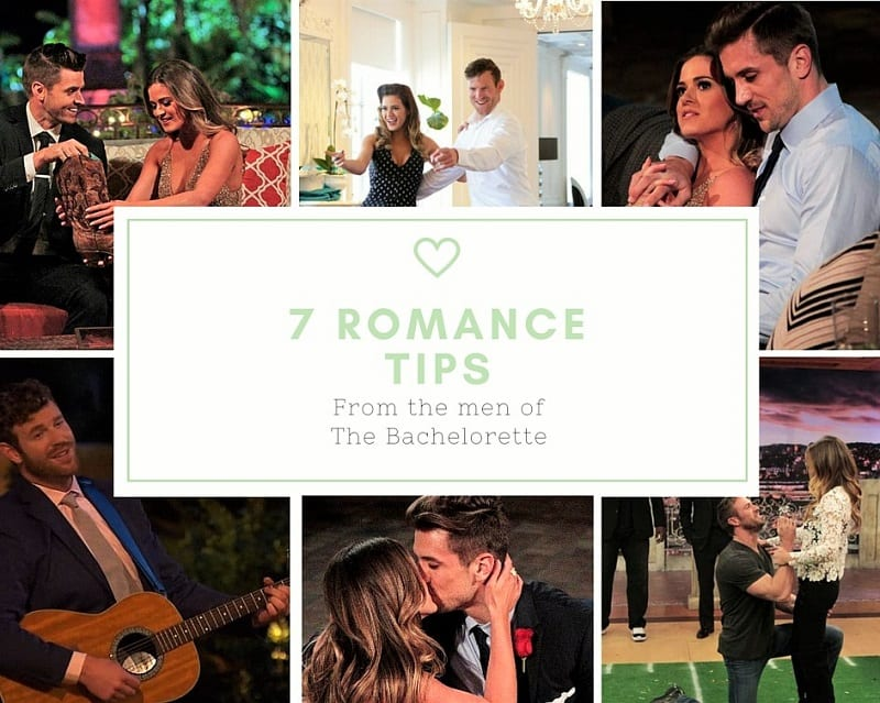 7 Romance Tips To Take From themen ofThe Bachelorette