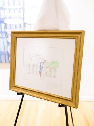 custom painting engagement proposal