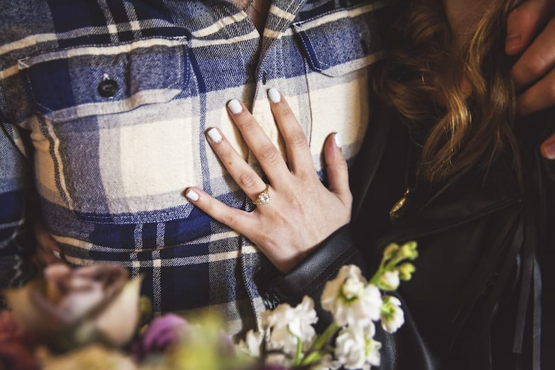 American at the Brand marriage proposal
