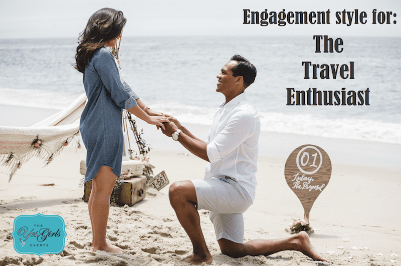 incorporate travel into wedding proposal