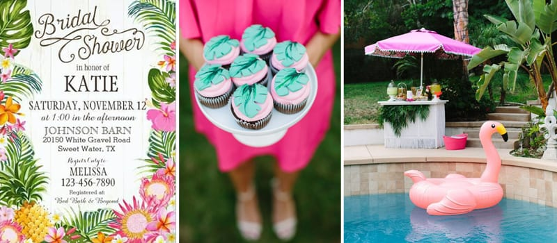 Tropical Bridal Shower: Tropical Bridal Shower Inspiration
