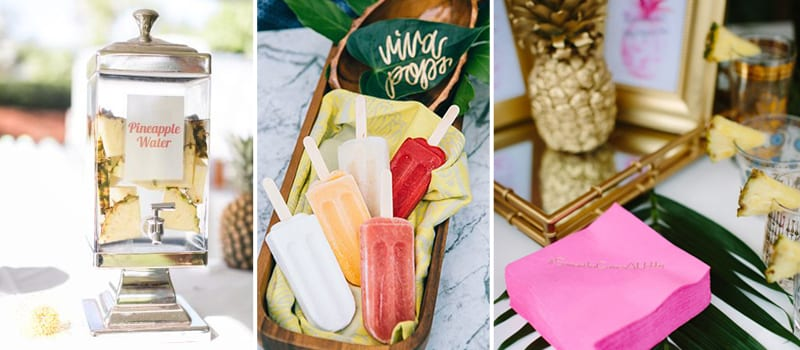 tropical party decor inspiration