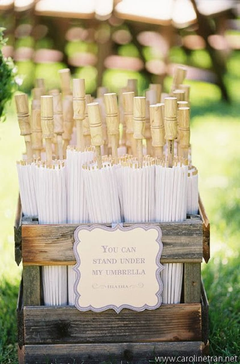 Creative Summer Wedding Favors