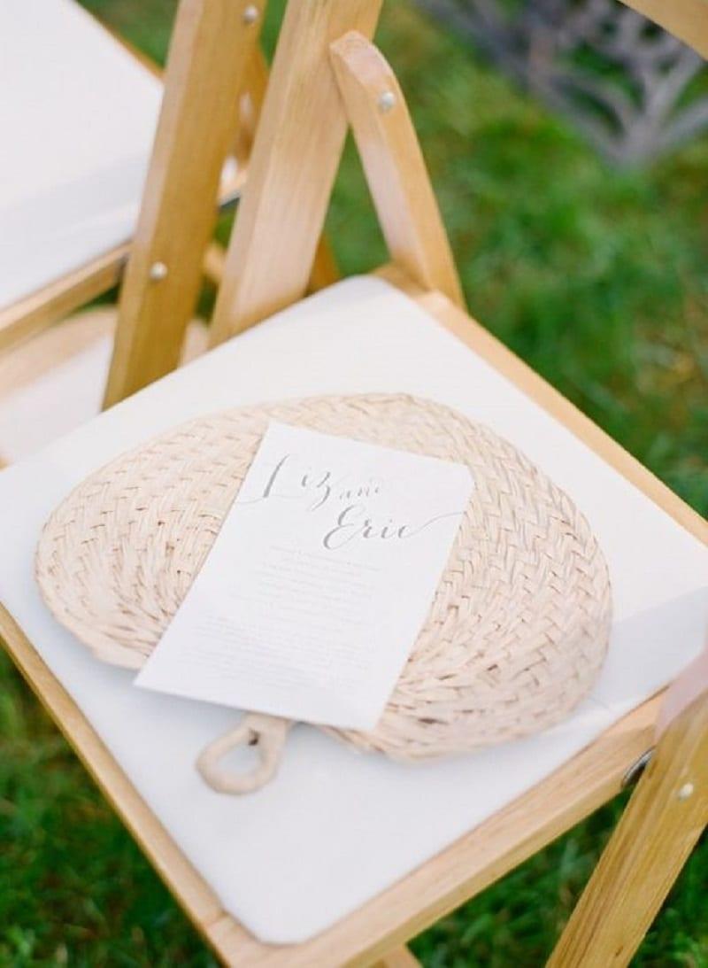 Unique summer wedding favors